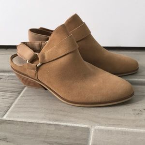 Dr. Scholl's Light Brown Booties!